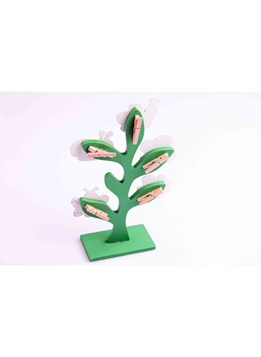 Ahşap Hayat Ağacı Mandallı Notluk-Learning Toys